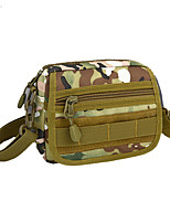 8 L Waist Bag/Waistpack Camping & Hiking Hunting Outdoor Wearable Camouflage Oxford