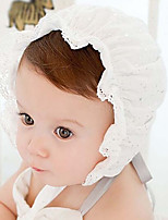 Children's One hundred embroidery lace cap princess breathable hollow out flowers Cap