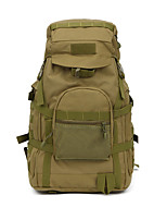 25 L Hiking & Backpacking Pack Camping & Hiking Hunting Outdoor Wearable Brown Oxford