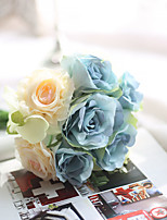 1 Branch Polyester Plastic Others Tabletop Flower Artificial Flowers 22
