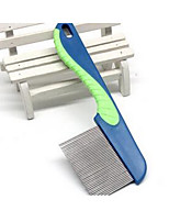Dog Grooming Comb Pet Grooming Supplies Portable Blue