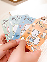 1 PCS Cartoon Bear Self-Stick Notes Cute