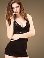 Garters & Suspenders Nightwear,Sexy Solid-Thin Cotton Women's