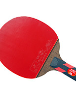 4 Звезд Ping Pang/Настольный теннис Ракетки Ping Pang Дерево Короткая рукоятка Прыщи