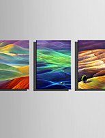 E-HOME® Stretched Canvas Art Colorful Hills Series Decoration Painting MINI SIZE One Pcs