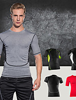 Men's Running Breathable Quick Dry Sweat-wicking Spring Fall/Autumn Yoga Exercise & Fitness Terylene LooseOutdoor clothing Performance