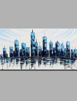 Handgemalte Abstrakt Horizontal,Modern Ein Panel Leinwand Hang-Ölgemälde For Haus Dekoration