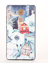 Для С узором Кейс для Задняя крышка Кейс для Пейзаж Мягкий TPU для Huawei Huawei Mate 9 Huawei Mate 8