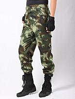 Homme Pantalon/Surpantalon Camping / Randonnée Chasse Hors piste Respirable Garder au chaud Printemps Eté Automne Camouflage