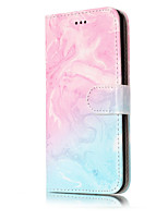 For Huawei P10 Lite P10 PU Leather Material Double Sided Marble Pattern Painted Phone Case P8 Lite (2017) P9 Lite P8 Lite