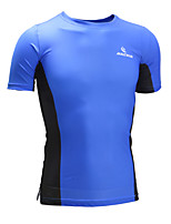 Malciklo Cycling Jersey Unisex Short Sleeve BikeBreathable Quick Dry Anatomic Design High Breathability (>15,001g) Compression 4D Pad