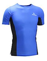 Malciklo Camisa para Ciclismo Unissexo Manga Curta MotoRespirável Secagem Rápida Design Anatômico Alta Respirabilidade (>15,001g)
