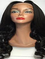 реальные человеческие волосы парики шнурка бесклеевое бразильские человека девственную волну волос парики шнурка тела с волосами младенца