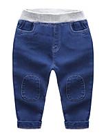 Pantalons Garçon Décontracté / Quotidien Ecole Couleur Pleine Coton Printemps Automne