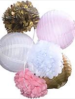 Перламутровая бумага Свадебные украшения-6шт / Установить Неперсонализированный