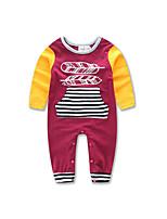 Baby kids stripe Long Sleeve Jumpsuit girl boy Newborn cotton clothes