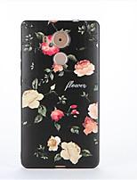 Para Diseños Funda Cubierta Trasera Funda Flor Suave TPU para Huawei Huawei Mate 9 Huawei mate 8