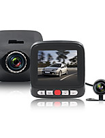 Voiture dvr daul camera dash cam full hd infrarouge vision nocturne 170 degrés grand angle g-senser enregistreur en boucle mode de
