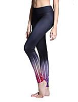 Pantalon de yoga Collants Leggings Bas Respirable Séchage rapide Taille moyenne Haute élasticité Vêtements de sport FemmeYoga Pilates
