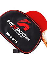 3 étoiles Tennis de table Raquettes Ping Pang Bois Long Manche Boutons Intérieur Utilisation Exercice Sport de détente-#