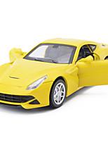 Гоночная машинка Машинки с инерционным механизмом Игрушки на солнечных батареях 1:28 ABS Серебристый Белый