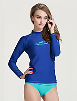 Sports Women's Wetsuit Top Quick Dry Neoprene Diving Suit Long Sleeve Tops-Diving Summer Classic
