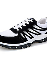 Men's Sneakers Spring Summer Fall Winter Comfort Fabric Tulle Athletic Casual Flat Heel Lace-up Walking