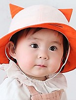 Children's Lovely Fashion Flat  Lovely Fashion Basin cChildren Fisherman Cap Sun Hat Cat Ear Cap