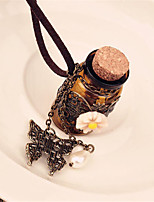 Traditional Lolita Make a Wish Bottle Necklace Lolita Accessories
