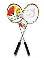 Raquettes de Badminton Durable Légère Alliage de fer Une Paire pour