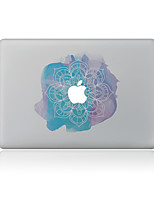 For MacBook Air 11 13/Pro13 15/Pro With Retina13 15/MacBook12 Watercolor Flowers Decorative Skin Sticker