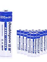 Aa níquel cádmio bateria recarregável 1.2v 1200mah 20 pack
