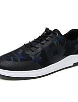 Men's Sneakers Spring Summer Fall Comfort Light Soles Tulle Outdoor Casual Flat Heel Gore Walking Shoes