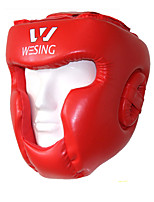 Solid PU Sports Protective Boxing Headgear