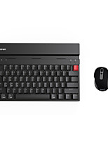 Bastron Multi-connection Wireless Mechanical Keyboard&Mouse Suit for ComputerTablet&Phone(Brown Swtich)