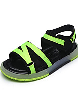Boys' Sandals Summer Light Up Shoes Comfort Leatherette Outdoor Office & Career Party & Evening Casual Flat Heel Braided Strap