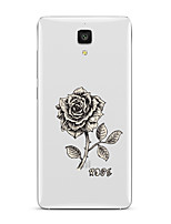 Для Прозрачный С узором Кейс для Задняя крышка Кейс для Цветы Мягкий TPU для XiaomiXiaomi Mi 5 Xiaomi Mi 4 Xiaomi Mi 5s Xiaomi Mi 5s Plus