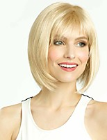 Bobo Wigs Straight Synthetic Women Wig Natural Short Blonde Wig