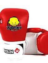 Boxing Gloves for Boxing Full-finger Gloves Protective PU Orange Red Green Blue
