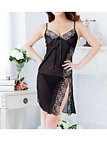 Women's Gartered Lingerie Lace Lingerie Nightwear Solid-Thin Acrylic Women's