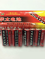 Huatai aa zinco bateria recarregável 1.5v 40 pack