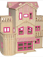 Пазлы Набор для творчества Конструкторы 3D пазлы Обучающая игрушка Пазлы Деревянные пазлы Строительные блоки Игрушки своими руками
