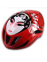 Sports Unisex Bike Helmet 12 Vents Cycling Cycling PC EPS Red