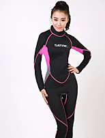 HISEA® Women's Full Wetsuit Thermal / Warm Quick Dry Anti-Eradiation Sweat-wicking Diving Suit Long Sleeve Diving Suits-DivingSpring