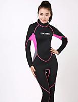 HISEA® Femme Combinaison  Intégrale Garder au chaud Séchage rapide Antiradiation Anti-transpiration Tenue de plongée Manches longues