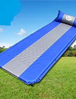 Moistureproof/Moisture Permeability Inflated Mat Green Blue Hiking Camping Traveling