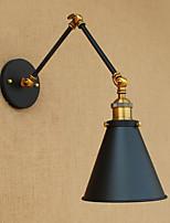 AC220V-240v 4W conduit ampoule e27 mur bougeoir laiton antique vintage éclairage domestique lumière de la lampe murale industrielle