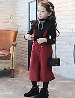 Mädchen Anzug & Overall Lässig/Alltäglich einfarbig Polyester Winter Herbst