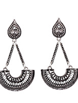 Fashion Retro National Wind Long Pendant Earrings