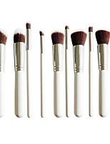 10 Pinceau à Blush Pinceau Poudre Pinceau Fond de Teint Autre Pinceau Pinceau à Contour Poil Synthétique Professionnel Couvrant Ecologique